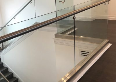 Glass Railing - Xtreme Iron Work