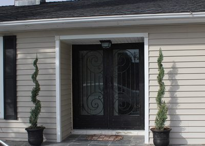 Custom Entry Door- Xtreme Iron Work