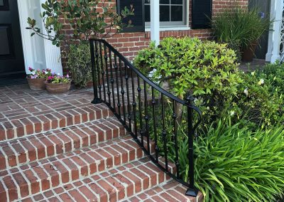 Outdoor Stair Railing - Xtreme Iron Work